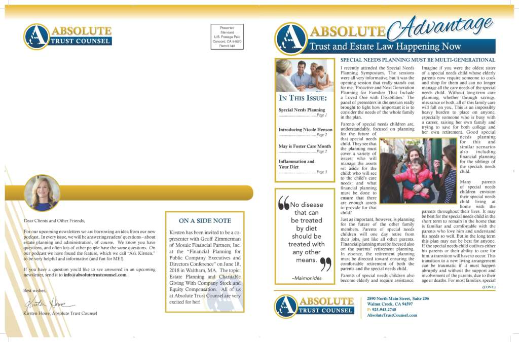 April 2018 Newsletter Page 2 1024x675 - Newsletter