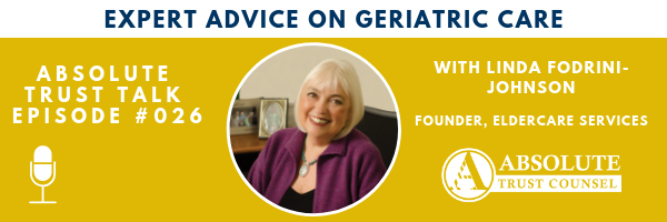 , 026: Expert Advice on Geriatric Care with Linda Fodrini-Johnson
