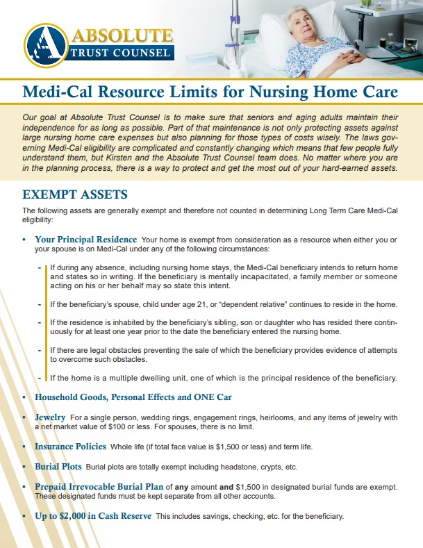 , 027: Is Medi-Cal for Me? Long-Term Care for Disabled People Over 65